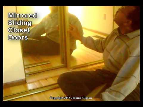 Mirrored Sliding Closet Doors Youtube