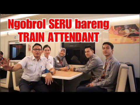 NGOBROL SERU BARENG TRAIN ATTENDANT