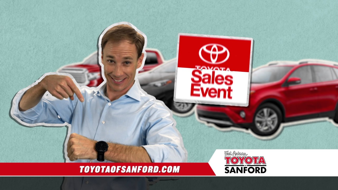 Fred Anderson Toyota Of Sanford   Toyota Time Corolla