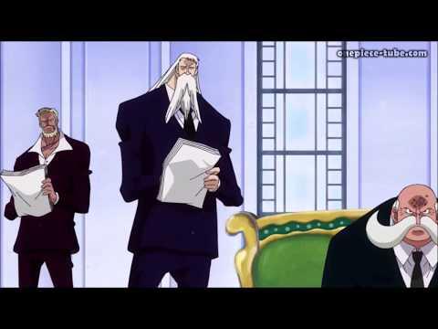Shanks Trifft Sich Mit Den 5 Weisen -887- One Piece GER SUB - HD
