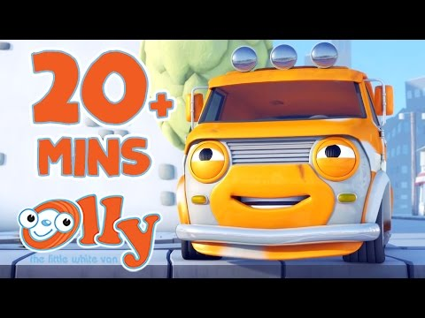 Olly The Little White Van - Movies and Games | Cartoons for Kids