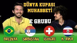 Altan Nam-ı Diğer Littleiv3 ile Dünya Kupası Muhabbeti E Grubu Brezilya Sırbistan İsviçre Kosta Rika