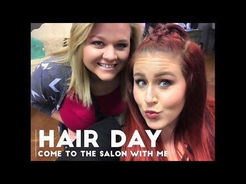 Hair Day - Come to the Salon with me!