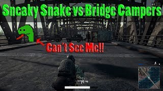 Bridge CAMPERS vs SNEAKY SNAKE Strategy | PUBG Mobile with DerekG