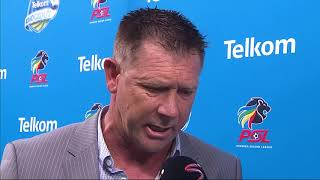 Telkom Knockout | Final | Maritzburg United v Sundowns | Post-match interview with Eric Tinkler