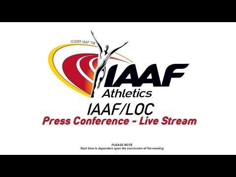 IAAF / LOC PRESS CONFERENCE - IAAF WORLD INDOOR CHAMPIONSHIPS BIRMINGHAM 2018