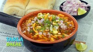 Misal Pav, Maharastrian Misal Pav Recipe by Tarla Dalal
