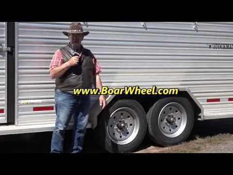 Boar Tire and wheel for trailers