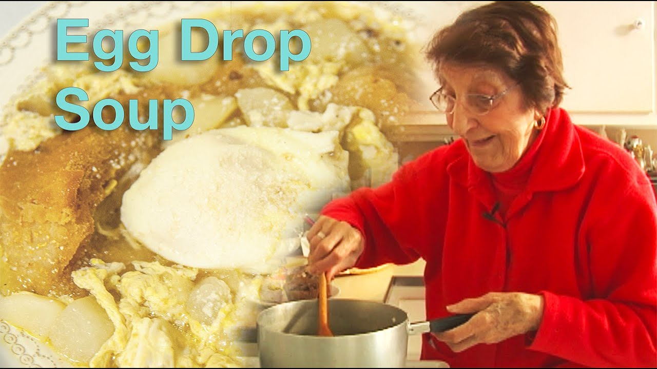 Great Depression Cooking - Egg Drop Soup - HQ
