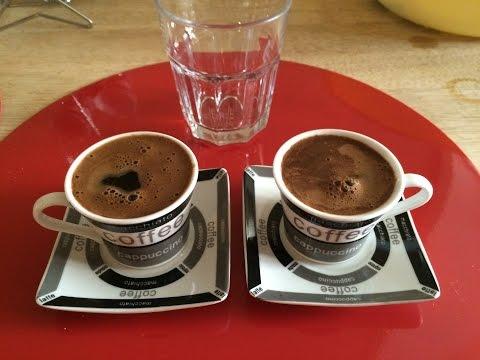 COMMENT FAIRE DU CAFE TURC  - turk kahvesi