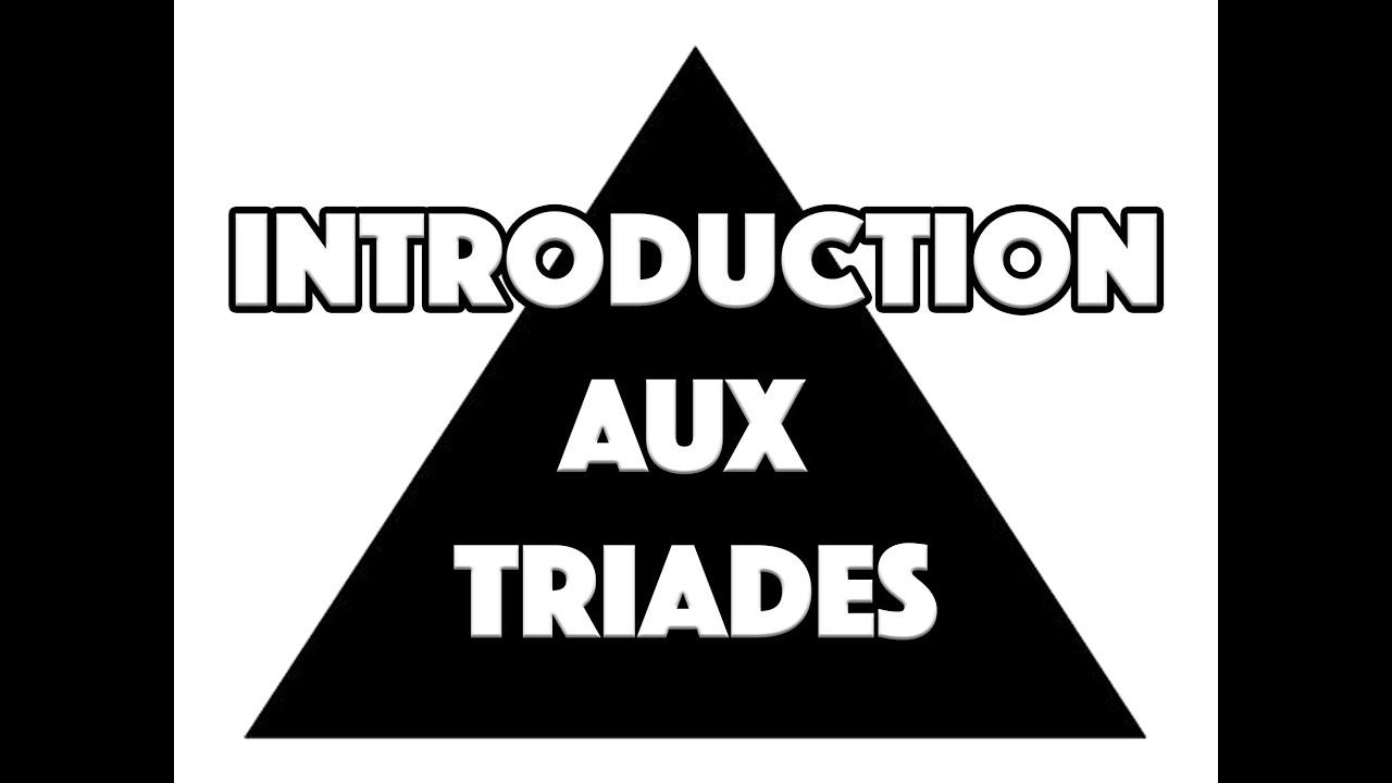 INTRODUCTION AUX TRIADES - LE GUITAR VLOG 010