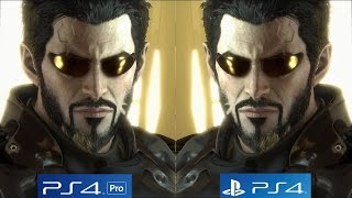[4K/60fps] Deus Ex: Mankind Divided - PS4 vs PS4 Pro Graphics Comparison