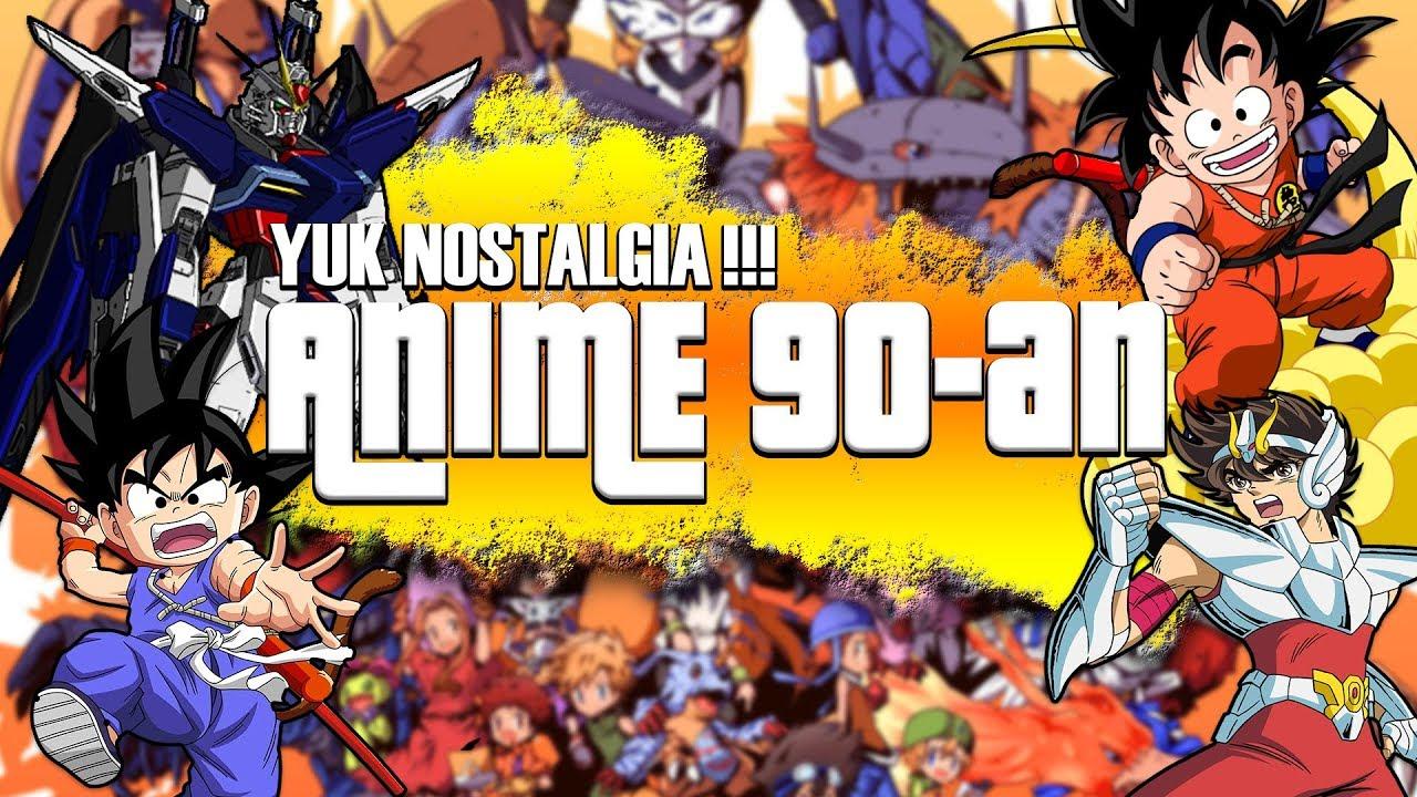 8 Anime Jadul Para Generasi 90 An