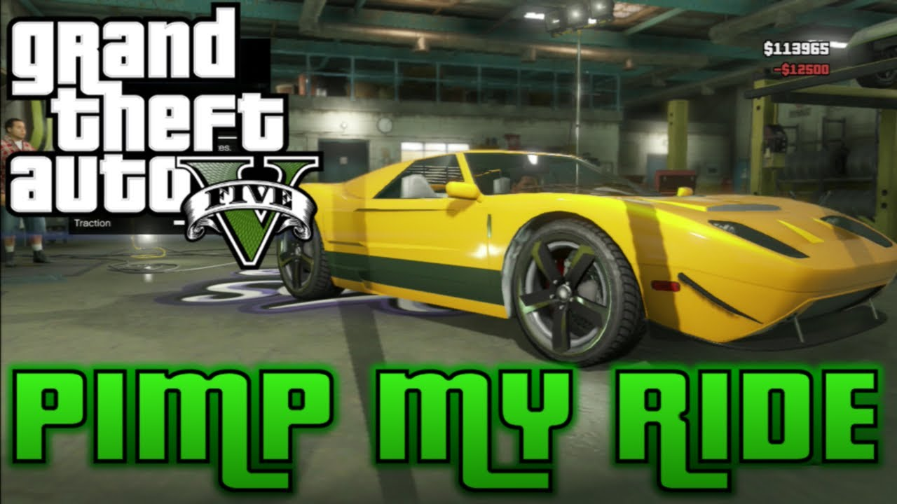 Gta  Pimp My Ride  Vapid Bullet Ford Gt Customization At Los Santos Customs Youtube