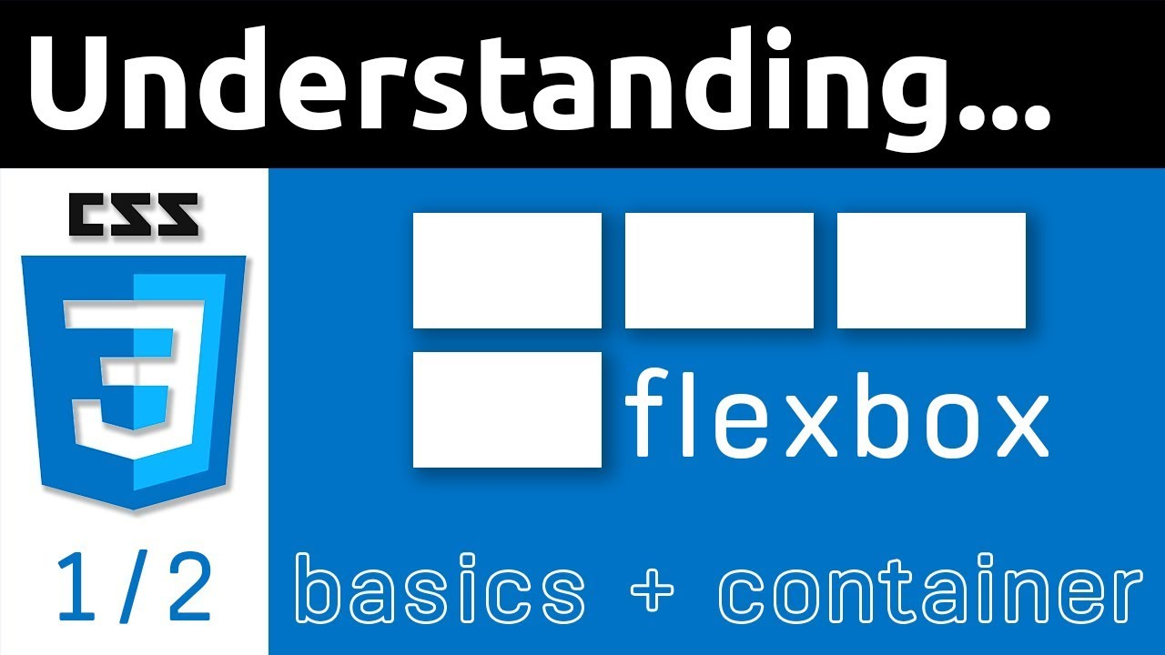 CSS Flexbox Tutorial for Beginners | Basics & Container | 1/2 - YouTube