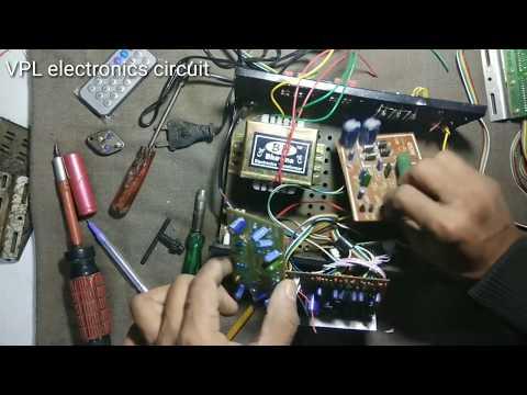 How To Make 4.1 Hometheater Amplifier 250 Watt In Hindi Part = 1