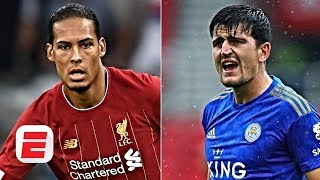 Harry Maguire 'not on the same level' as Liverpool's Virgil van Dijk - Frank Leboeuf | ESPN FC
