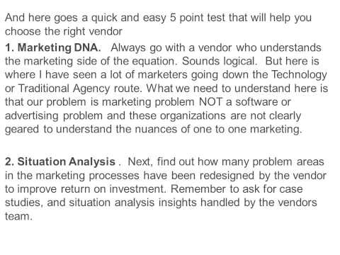 5 simple tests to find the right Analytics Agency.
