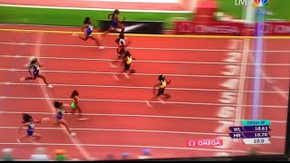 sha'carri richardson Got Smoked In Her Return To Track