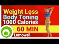 Weight Loss and Body Toning Exercises - 1000 Calorie Workout at Home