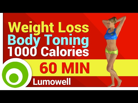 Weight Loss and Body Toning Exercises – 1000 Calorie Workout at Home
