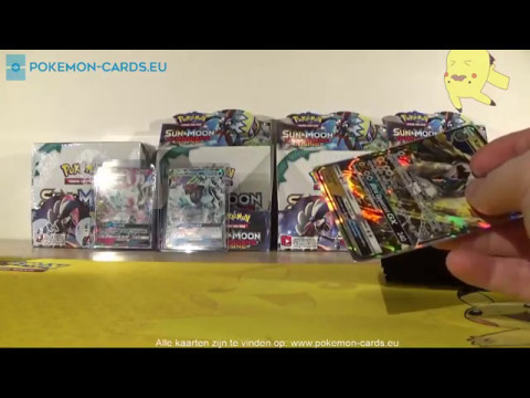 [Pt.2]Guardians Rising 4 boosterbox openings/unpacking - Double Tapu Lele!