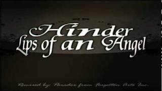 Hinder - Lips of an Angel remix
