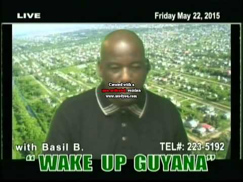 Ossie Rodgers live on the Wake up Guyana Show.