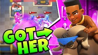Today we do the ram rider challenge in clash royale and unlock it! ...