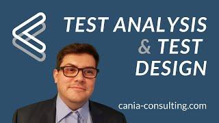 Test Analysis and Test Design