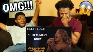 Glennis Grace: Dutch Singer Delivers HOT Semi-final Performance! | America's Got Talent 2018