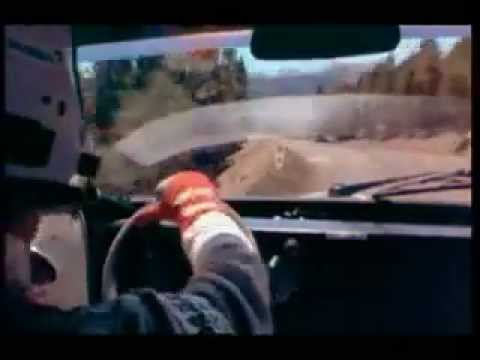 On-board: Peugeot 405 T16 (1990) - Pikes Peak