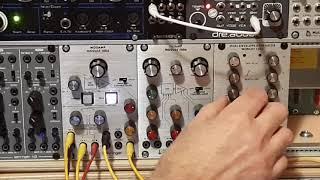 Behringer 2500 1005 modul demonstration