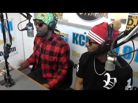Blaq Tuxedo #Live on KCRH 89.9 FM's #TheMidDayMixU