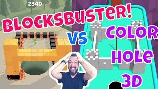Best Mobile Game: BlocksBuster! vs Color Hole 3D