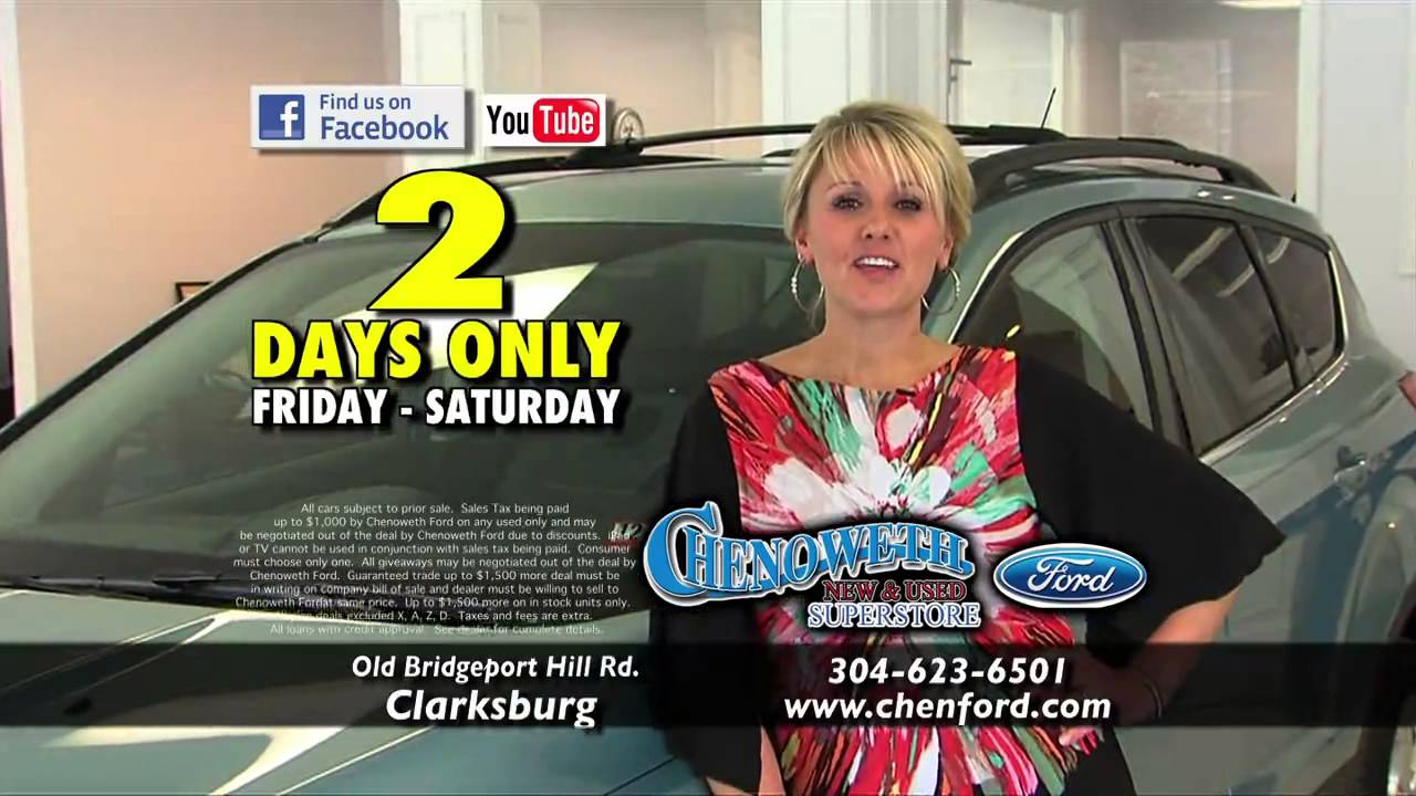 Chenoweth Ford Huge 2 Day Sale # 1  sc 1 st  YouTube & Chenoweth Ford Huge 2 Day Sale # 1 - YouTube markmcfarlin.com