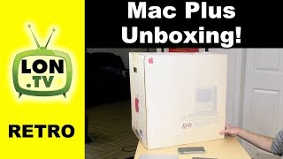 Retro Review: Mac Plus Unboxing and Emulation!