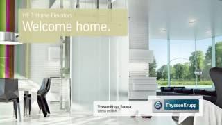 ThyssenKrupp Encasa Home    КОТТЕДЖНЫЙ ЛИФТ ОТ КОМПАНИИ ЕВРАЗИЯ ЛИФТ(, 2016-03-18T11:20:04.000Z)