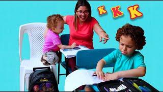 NOVAS REGRAS DE CONDUTA para CRIANÇAS NA ESCOLA Rules of Condut for Children Cadu Pontes