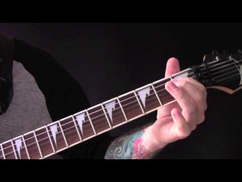 Of Mist And Midnight Skies Guitar Tutorial By Cradle Of Filth
