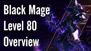FFXIV Black Mage 5 0 opener, rotation, and thoughts