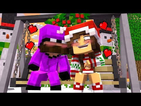 Minecraft daycare- KISSING UNDER THE MISTLETOE!?