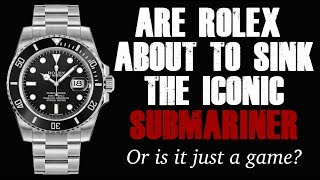 Are Rolex about to discontinue the Rolex Submariner 116610LN