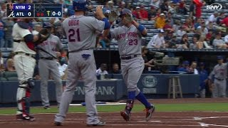 NYM@ATL: Cuddyer drills a two-run home run to left