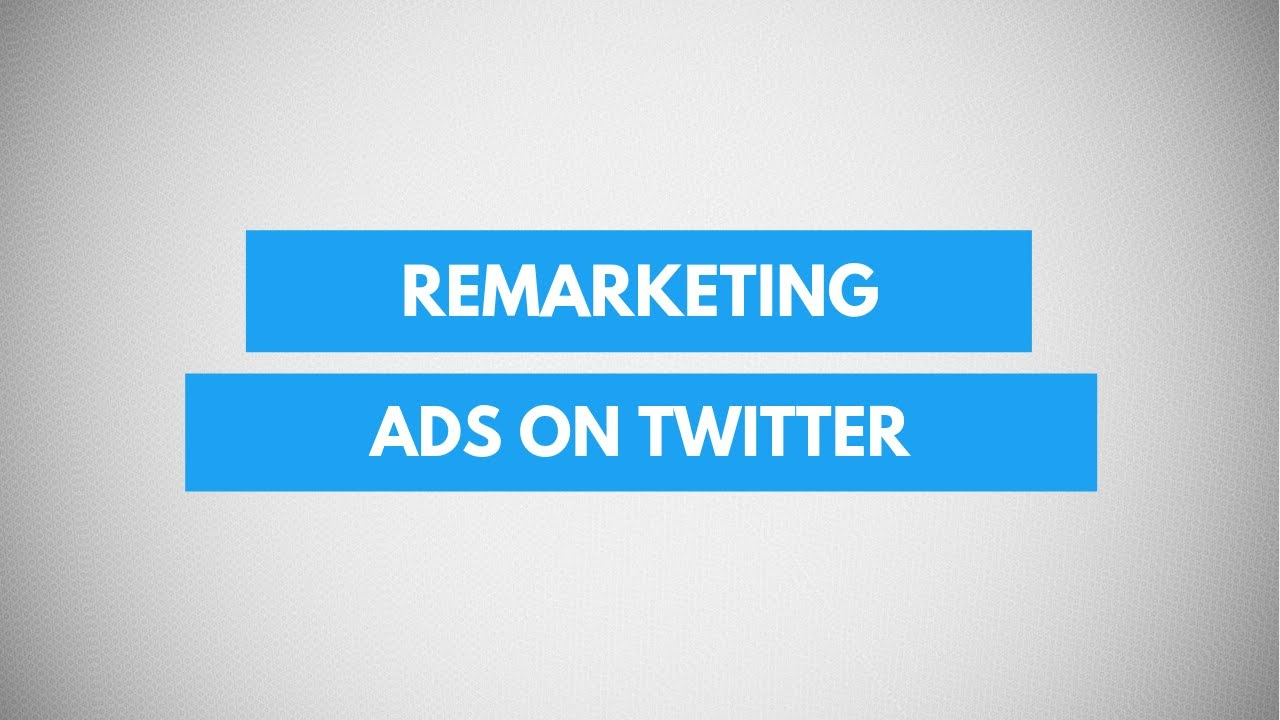 How To Create Remarketing Ads on Twitter | Twitter Remarketing Audience Tutorial