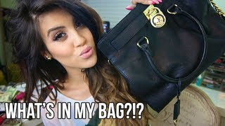 Throwback Style: What's In My Bag?!