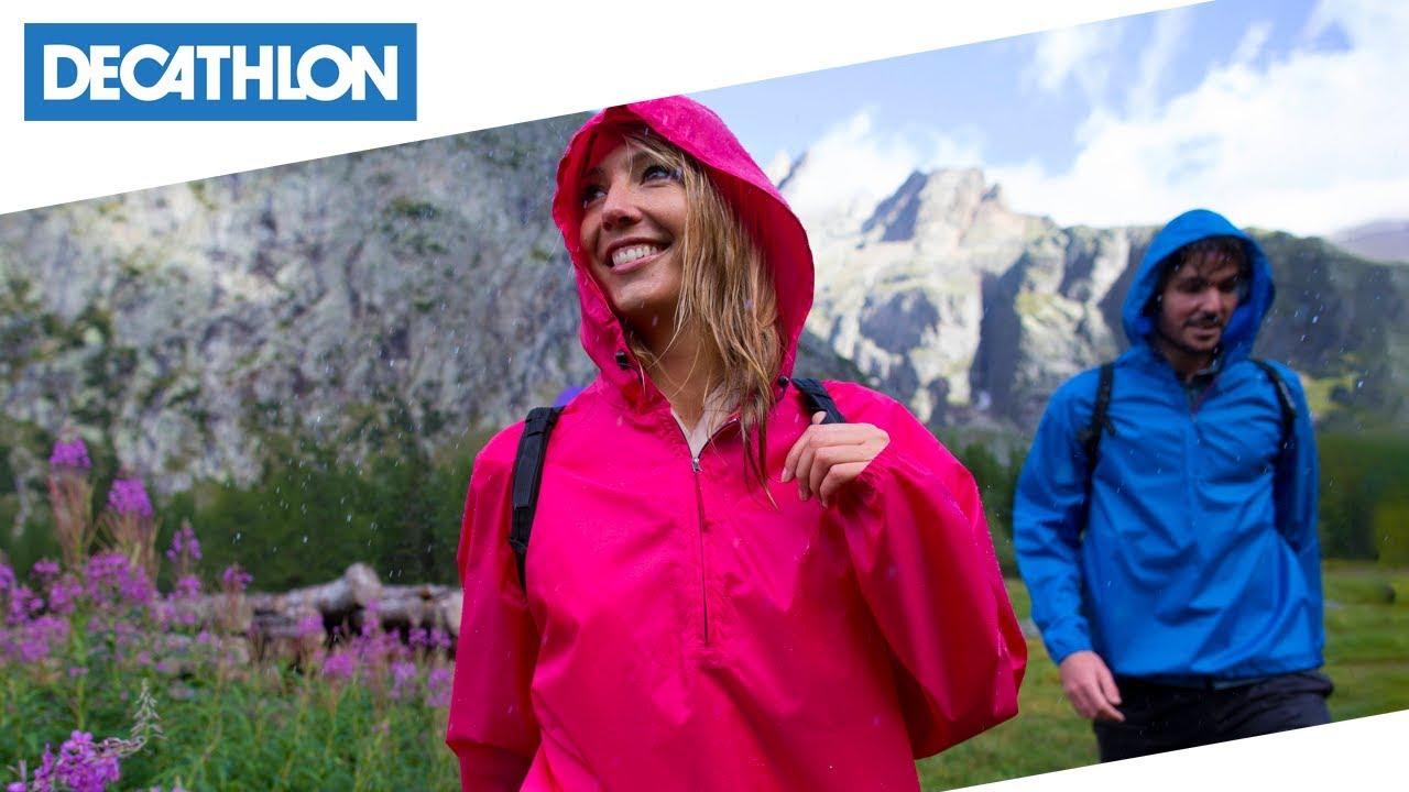 low priced 79776 f3dea Com'è fatto: Giacca da montagna Rain-Cut Quechua   Decathlon Italia