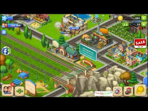 Play Game Town Ship 6-2016 ♥ Build Town Ship LV1 to LV9