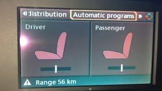 BMW E60 5 SERIES ЯК НАЛАШТУВАТИ ОБІГРІВ СИДІНЬ.
