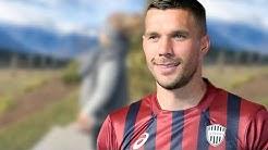 Lukas Podolski - Hach, ist die herzig! Endlich neue Aufnahmen von Tochter Maya